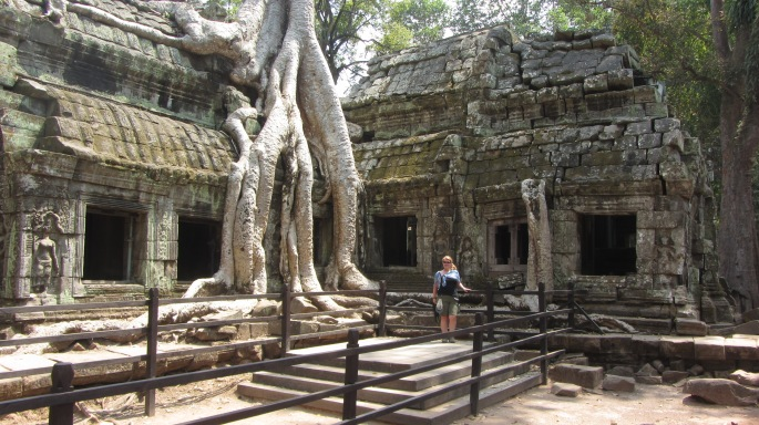 Abbey at Ta Phrom 1