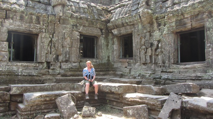 Abbey at Ta Phrom 2