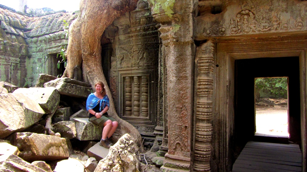 Abbey at Ta Phrom 3