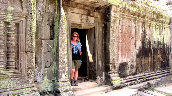 Abbey at Ta Phrom 4
