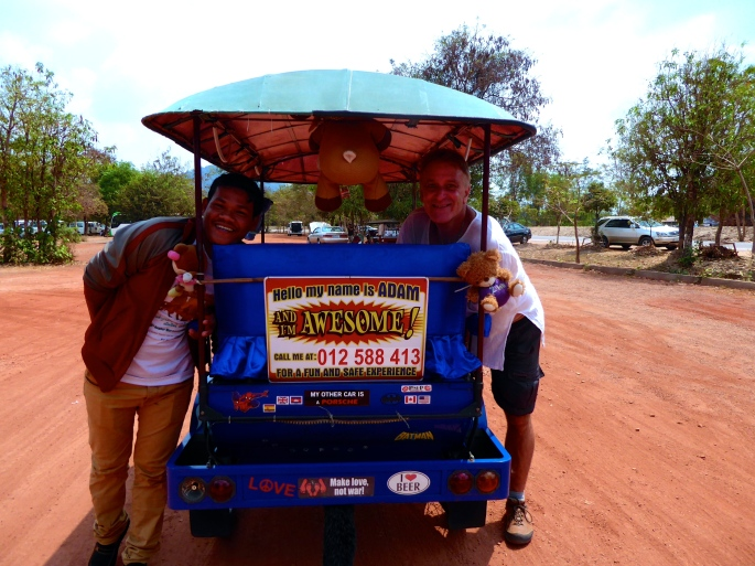 Adam Bun - Best Tuk-Tuk Driver Ever