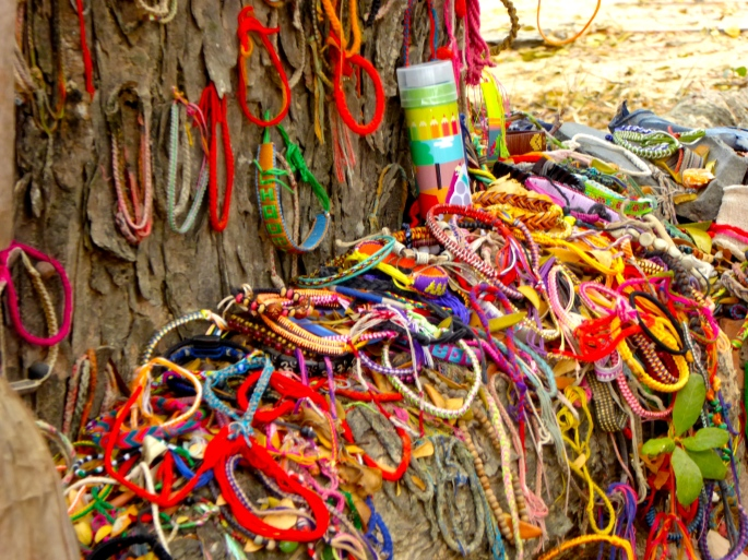 Bracelets in Offering at the Killing Tree