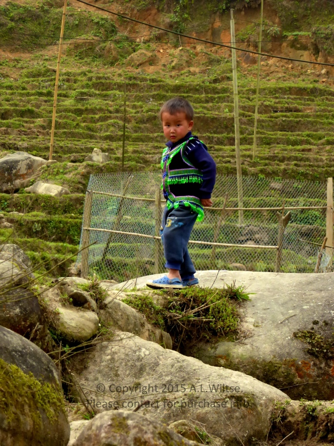 Boy Playing-Sapa