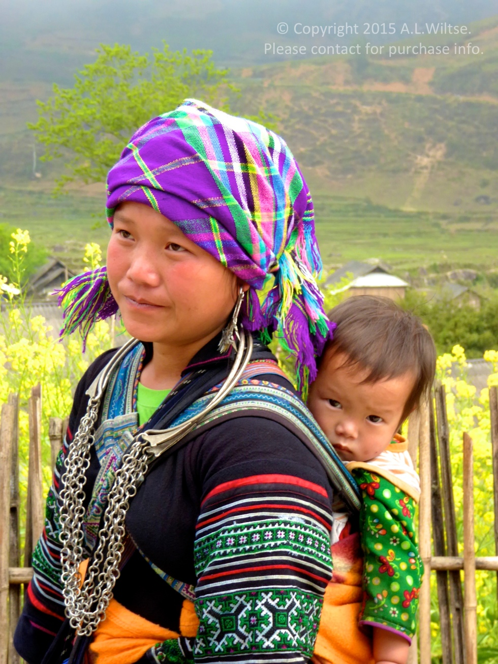 Girl and Baby-Sapa