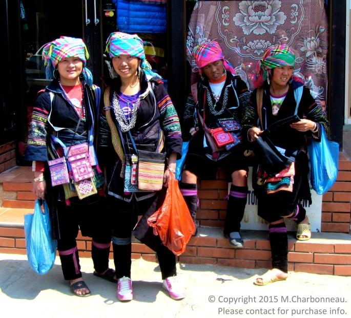 Hmong Girls-Sapa