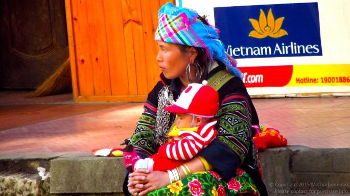 Hmong Mother & Baby-Sapa