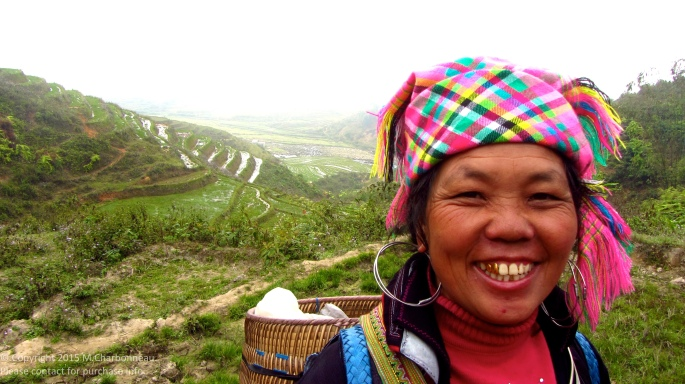 Hmong Woman in Hills-Sapa