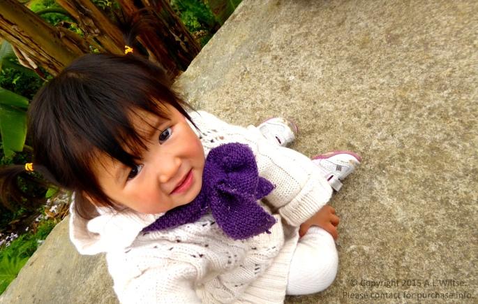 Little Hmong Girl-Sapa