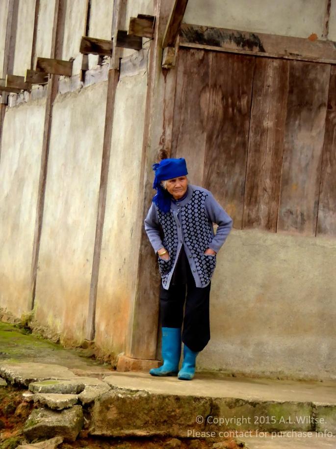 Old Hmong Lady-Sapa