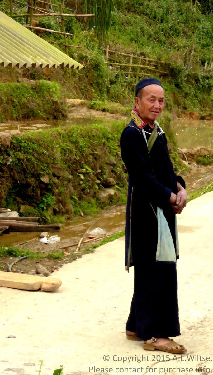 Old Hmong Man-Sapa