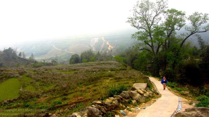 The Long Walk Up-Sapa